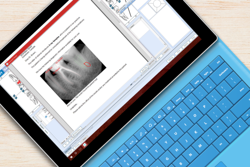 In ClearDent dental software, everything just works together perceptively