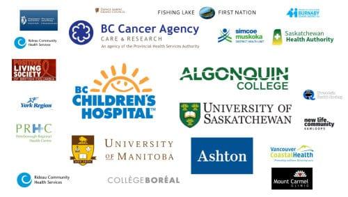 a group of logos