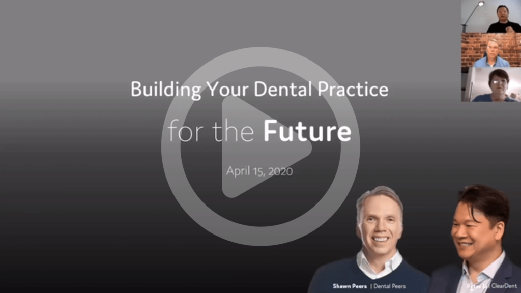 """A webinar recording on how to """"Build your Dental Practice for the future"""""""